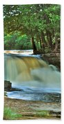 Lower Tahquamenon Falls Bath Towel