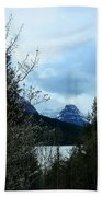 Lower Two Med Lake Through The Trees Bath Towel
