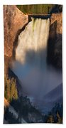 Lower Yellowstone Falls Bath Towel