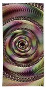 Lucid Hypnosis Abstract Wall Art Bath Towel
