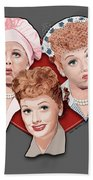 Lucy Expressions Gry Bath Towel