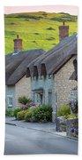 Lulworth Cottages Bath Towel