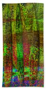 Luminous Landscape Abstract Bath Towel