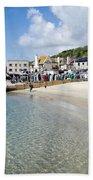 Lyme Regis Beaches - June 2015 Bath Towel