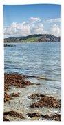 Lyme Regis Seascape 5 - October Bath Towel