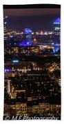 Lyon's Skyscrapers Bath Towel