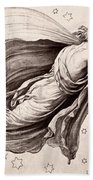 Lyre Of Orpheus Hand Towel