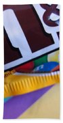 M And M Candy Bath Towel