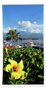 Maalaea Boat Harbor Bath Towel