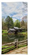 Mabry Mill In The Spring Bath Towel