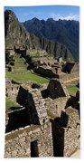 Machu Picchu Residential Sector Bath Towel