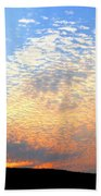 Mackerel Sky Bath Towel