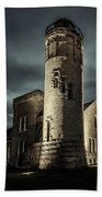 Mackinaw Point Lighthouse Bath Towel