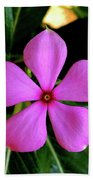 Madagascar Periwinkle Hand Towel