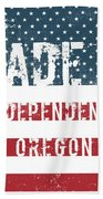 Made In Independence, Oregon Bath Towel