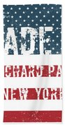 Made In Orchard Park, New York Bath Towel
