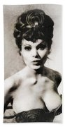 Madeline Smith, Vintage Actress Bath Towel
