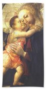 Madonna And Child Hand Towel