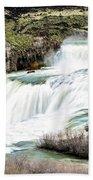 Magnificence Of Shoshone Falls Bath Towel
