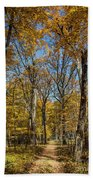 Magnificent Maples Bath Towel