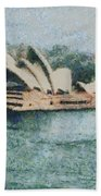 Magnificent Sydney Opera House Bath Towel