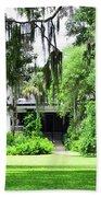 Magnolia Plantation Back Entrance Bath Towel