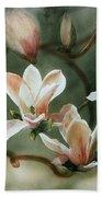 Magnolias In Bloom Bath Towel