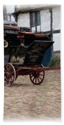 Mail Coach At Lacock Bath Towel by Paul Gulliver