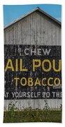 Mail Pouch Tobacco Barn Bath Towel