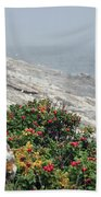maine 13 Pemaquid Lighthouse Shoreline Before Storm Bath Towel