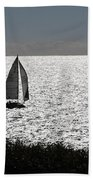 maine 44 Sailboat Bath Towel