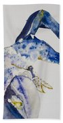 Maine Blue Lobster Hand Towel