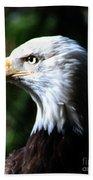 Majestic Bald Eagle Bath Towel