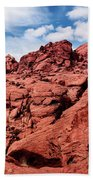 Majestic Red Rocks Bath Towel