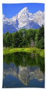 Majestic Tetons Bath Towel