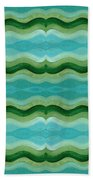 Making Waves Bath Towel
