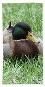 Mallard Duck #2 Bath Towel
