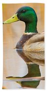 Mallard Mirror Bath Towel