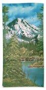 Mammoth Mountain Bath Towel