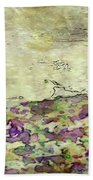 Man In The Lansdscape By Mary Bassett Bath Towel