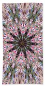 Mandala Of Cherry Blossom Bath Towel