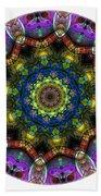 Mandala - Talisman 1526 Bath Towel