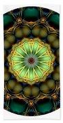 Mandala - Talisman 853 For Those Born In 1957 Bath Towel