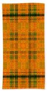 Mandoxocco-wallpaper-orange-green Bath Towel