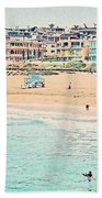 Manhattan Beach - Los Angeles, California Bath Towel