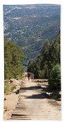 Manitou Springs Pikes Peak Incline Bath Towel