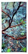 Manzanita Abstract Hand Towel