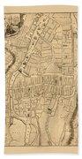 Map Of Cork 1771 Bath Towel