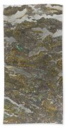Marble Bark Colored Abstract Bath Towel