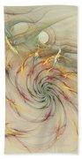 Marble Spiral Colors Bath Towel